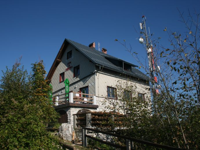 Berghütte Lubnik