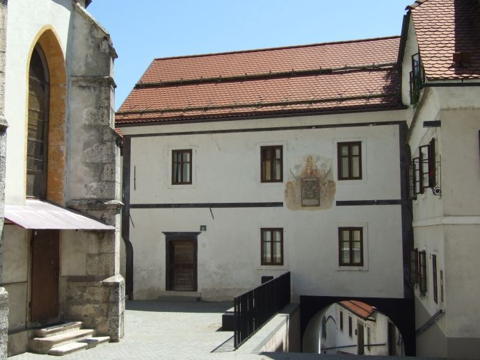 Alte Schule in Škofja Loka