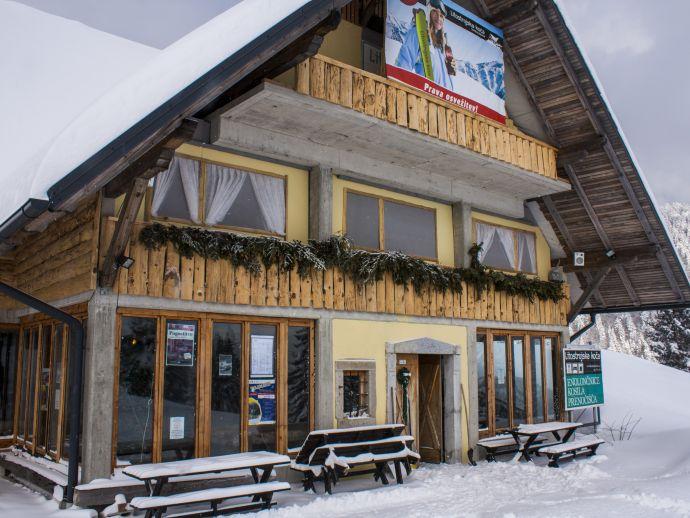 The Litostroj Mountain Hut (Litostrojska koča)