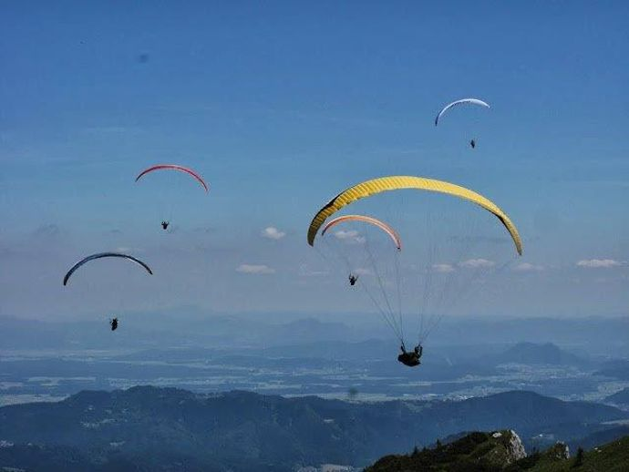 The Krokar Železniki Parachuting Club