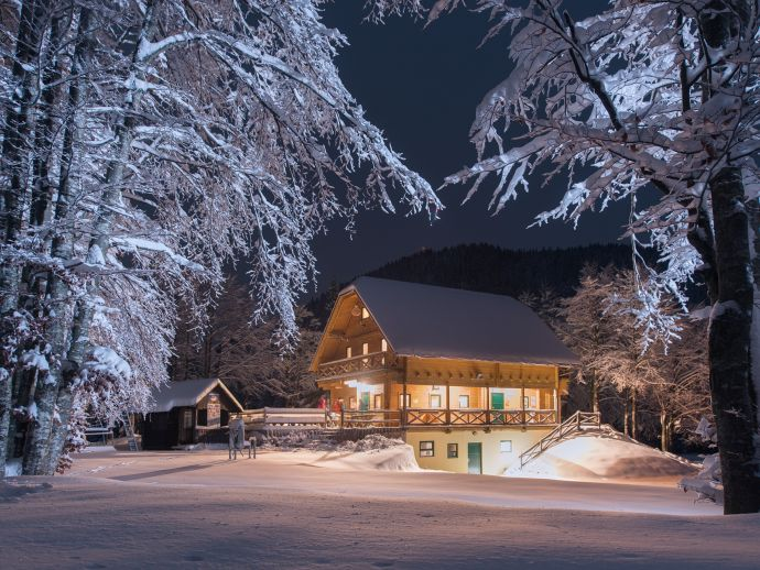 Sorica Highland Cabin (Brunarica Soriška planina)