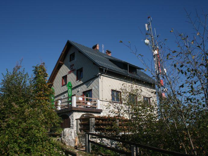 Le refuge de montagne Lubnik