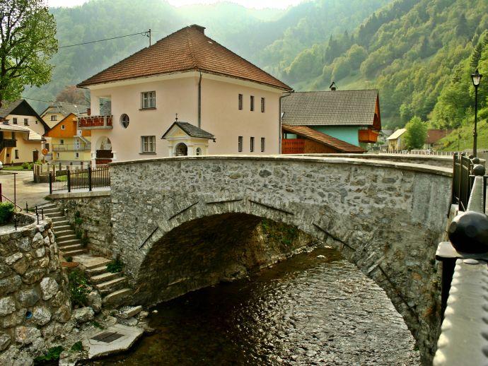 Le pont sous Griva