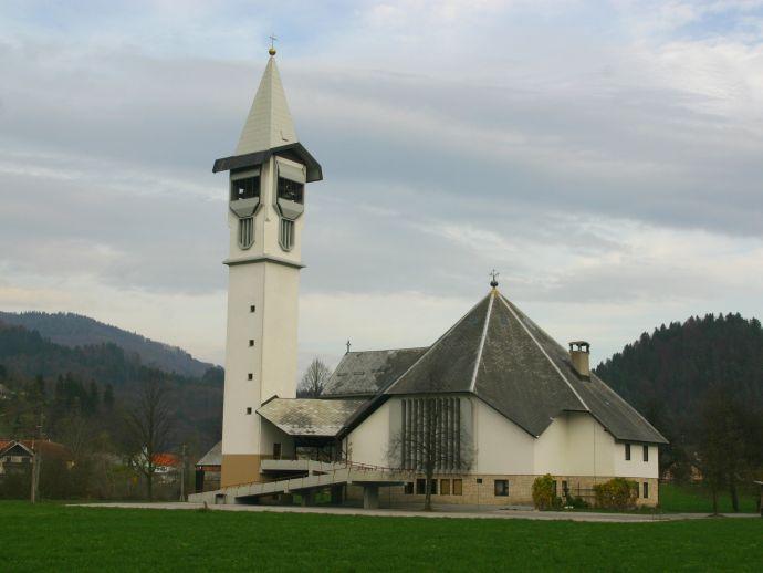 L'église de Saint Martin à Poljane