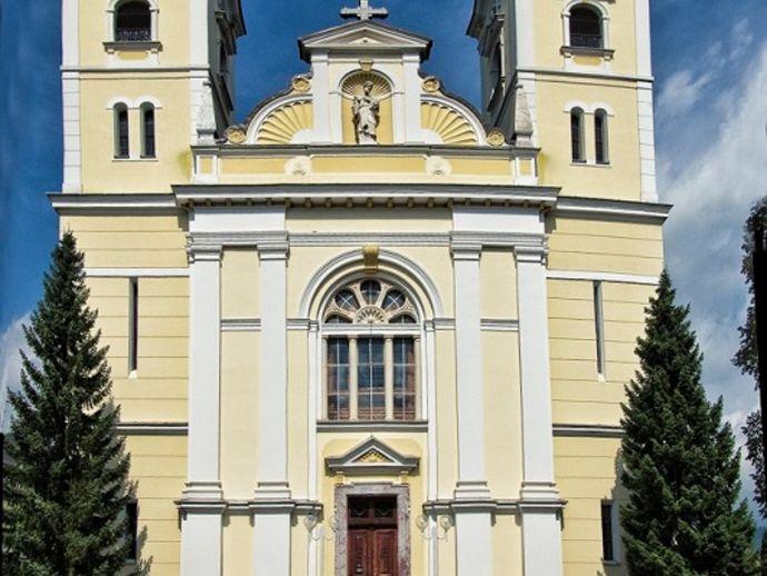L'église Saint Martin à Žiri
