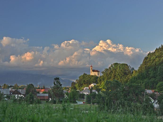 L'église de Saint Croix