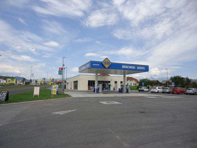 Stazione di servizio Logo
