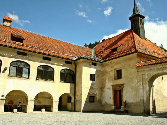 Das Schloss von Puštal