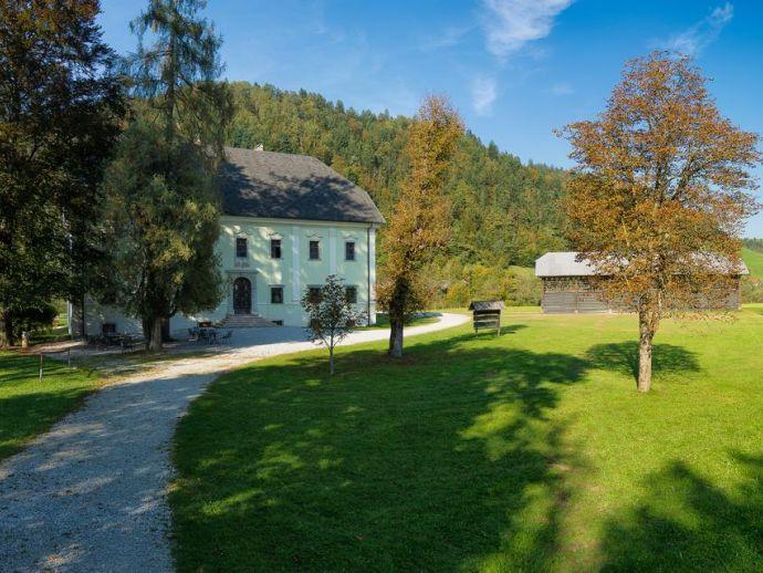 Herrenhaus Tavčar (Landgut Visoko) in Visoko