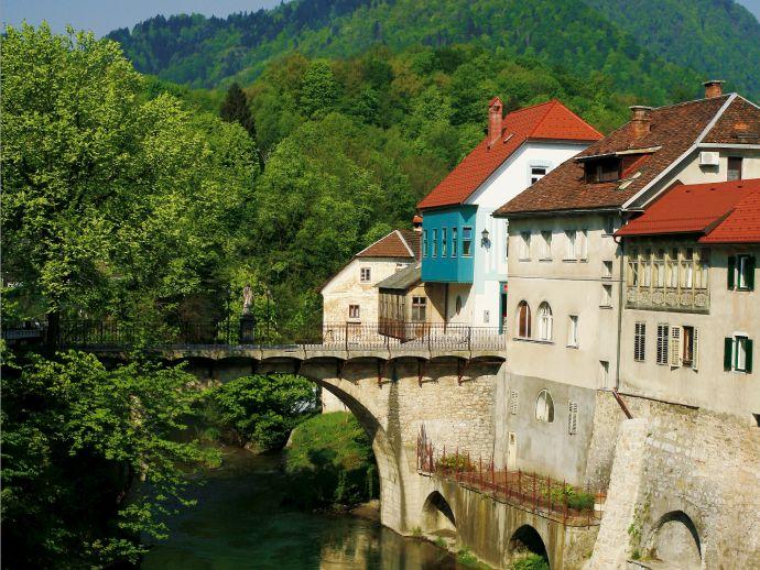 Die Steinbrücke oder Kapuzinerbrücke
