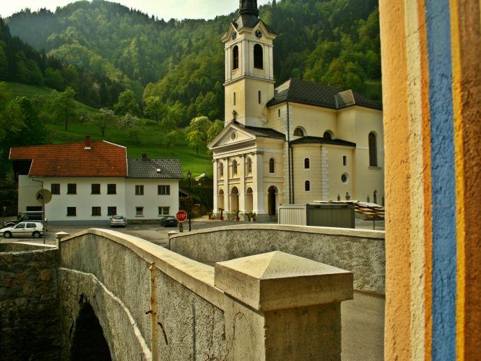 Kirche des heiligen Antons in Železniki