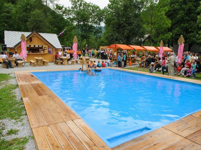 The Kopačnica Pool - Pr'Topličar-ju