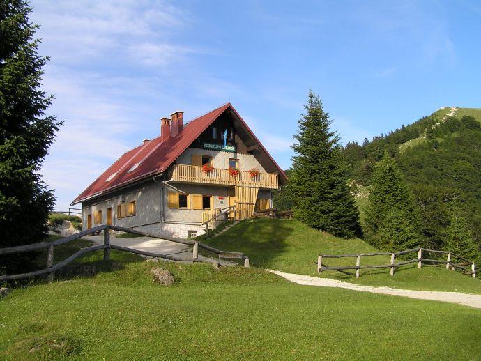 Le refuge de montagne sur Blegoš
