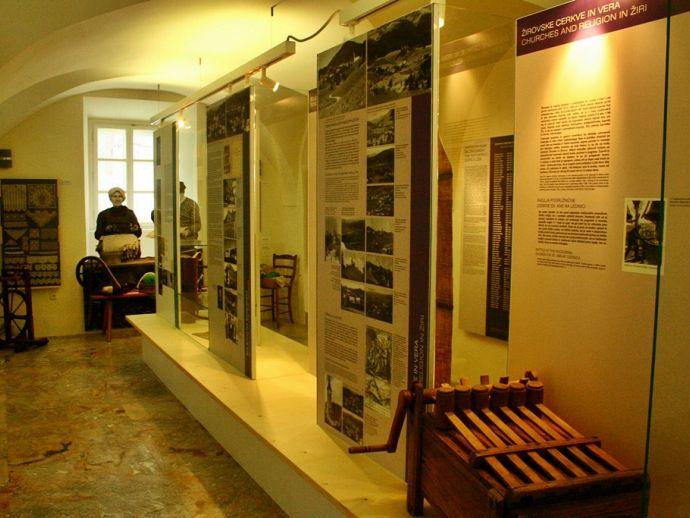 Le musée de Žiri