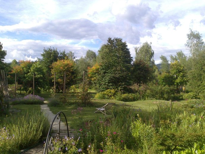 Le jardin et la galerie Kržišnik