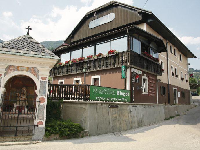Le restaurant avec chambre d'hôtes Blegoš Javorje