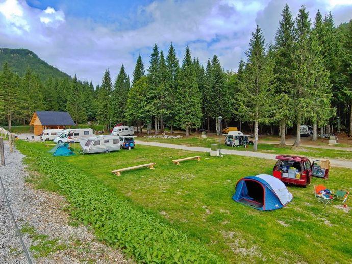 Kamp Soriška planina